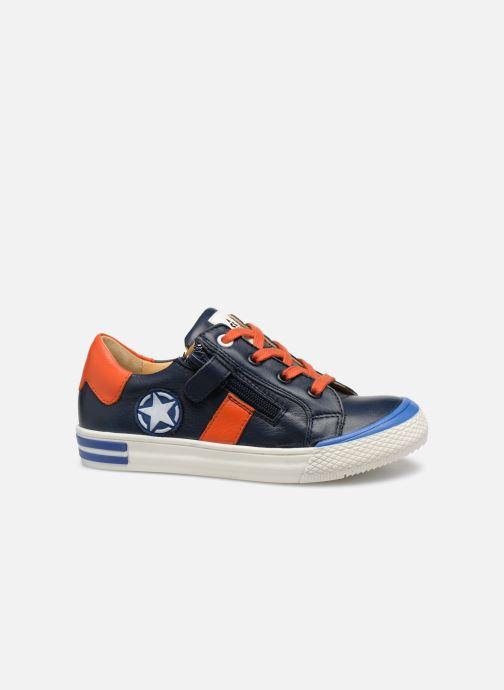 Sneaker Acebo's Malta blau ansicht von hinten