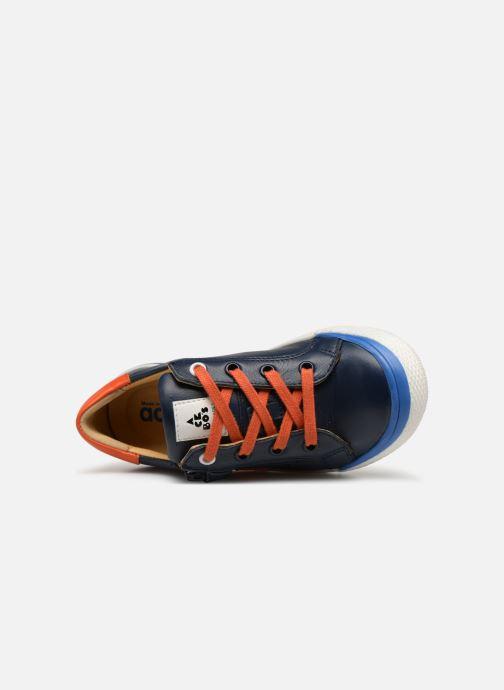 Sneaker Acebo's Malta blau ansicht von links
