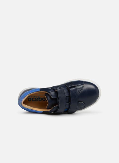 Sneakers Acebo's Mateo Blå bild från vänster sidan
