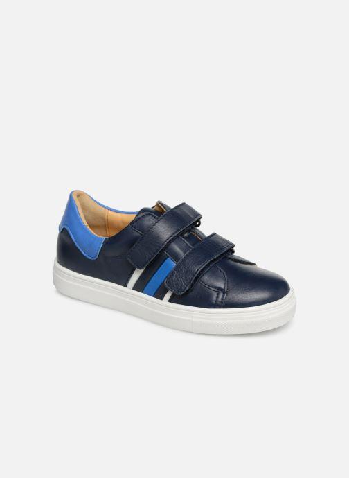 Sneakers Acebo's Mateo Blå detaljerad bild på paret