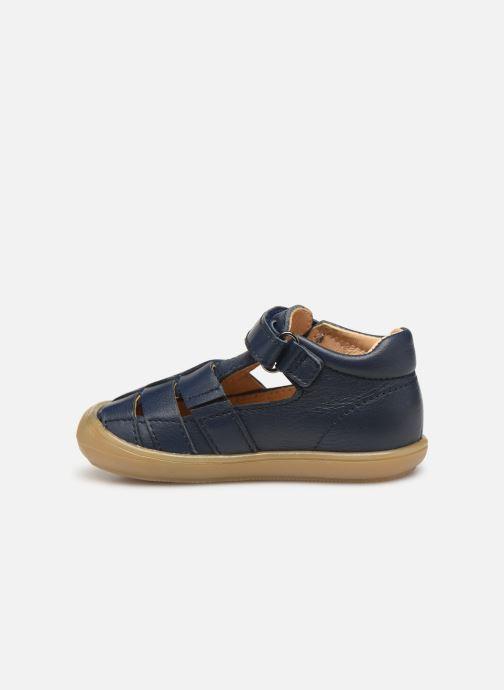 Sandales et nu-pieds Acebo's Roman Bleu vue face