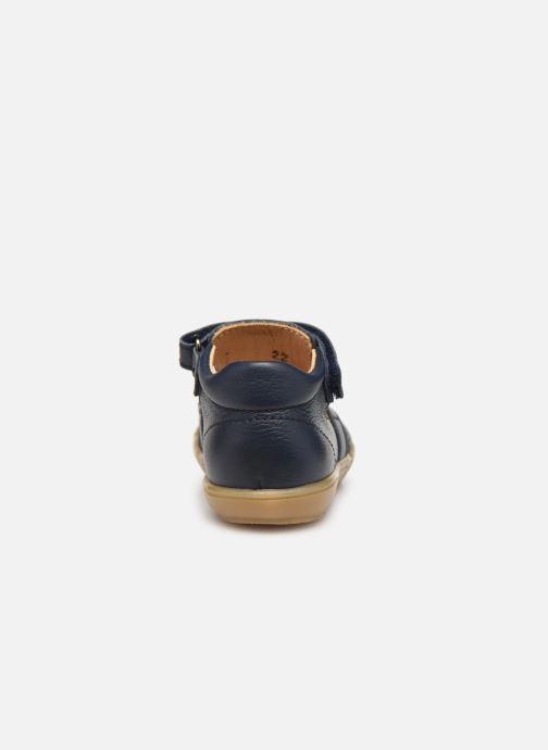 Sandales et nu-pieds Acebo's Roman Bleu vue droite