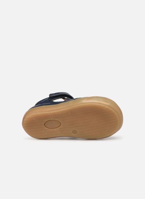 Sandales et nu-pieds Acebo's Roman Bleu vue haut