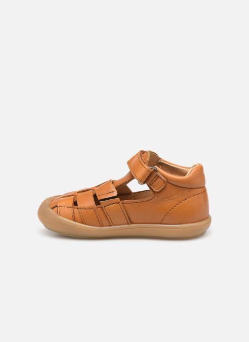 Sandales et nu-pieds Acebo's Roman Marron vue face