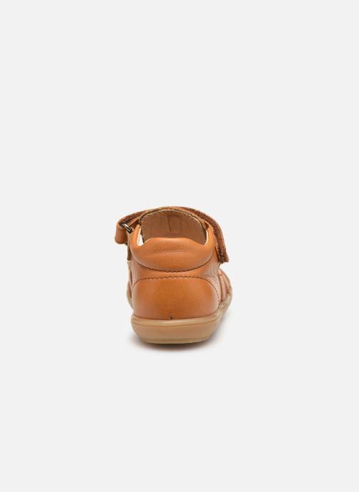 Sandales et nu-pieds Acebo's Roman Marron vue droite