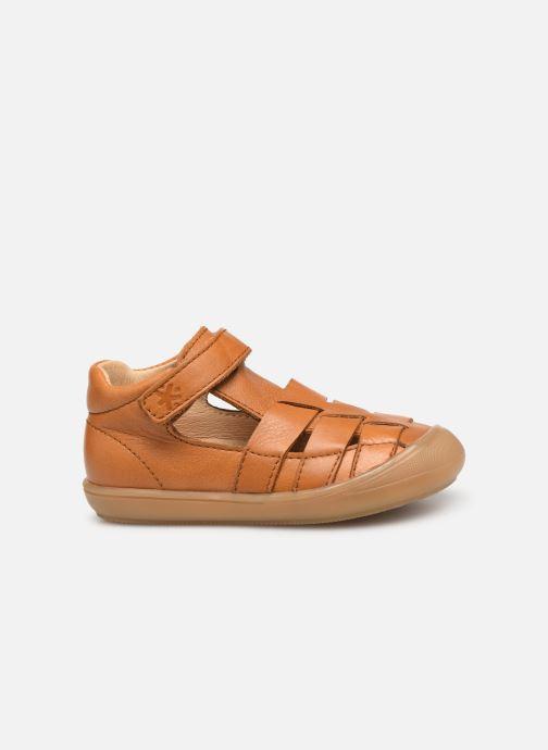 Sandales et nu-pieds Acebo's Roman Marron vue derrière