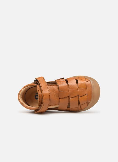 Sandales et nu-pieds Acebo's Roman Marron vue gauche