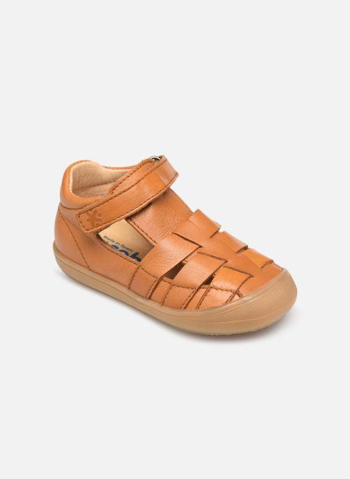 Sandales et nu-pieds Acebo's Roman Marron vue détail/paire