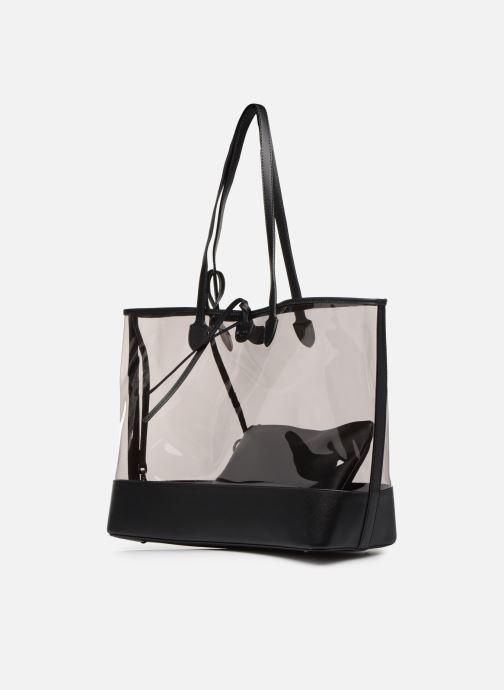 Handtaschen Hexagona MALIBU CABAS schwarz schuhe getragen