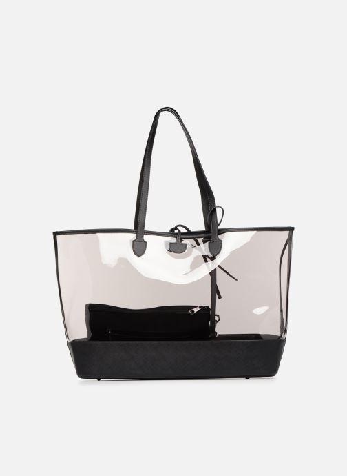 Handtaschen Hexagona MALIBU CABAS schwarz ansicht von vorne