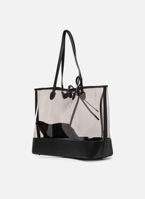 Handtaschen Hexagona MALIBU CABAS schwarz ansicht von rechts