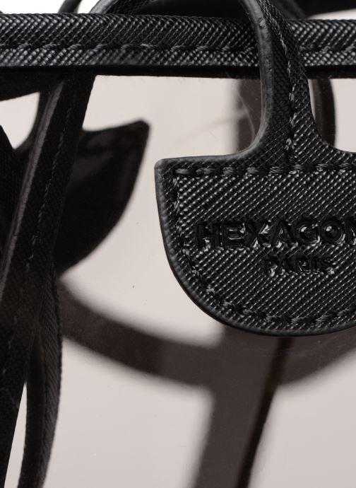Handtaschen Hexagona MALIBU CABAS schwarz ansicht von links