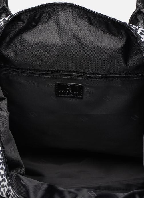 Handtassen Hexagona Cabas Nylon Porté épaule Zwart achterkant