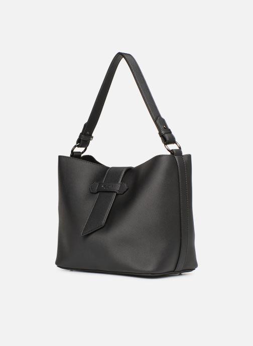 Bolsos de mano Hexagona LAGUNE Porté épaule Negro vista del modelo
