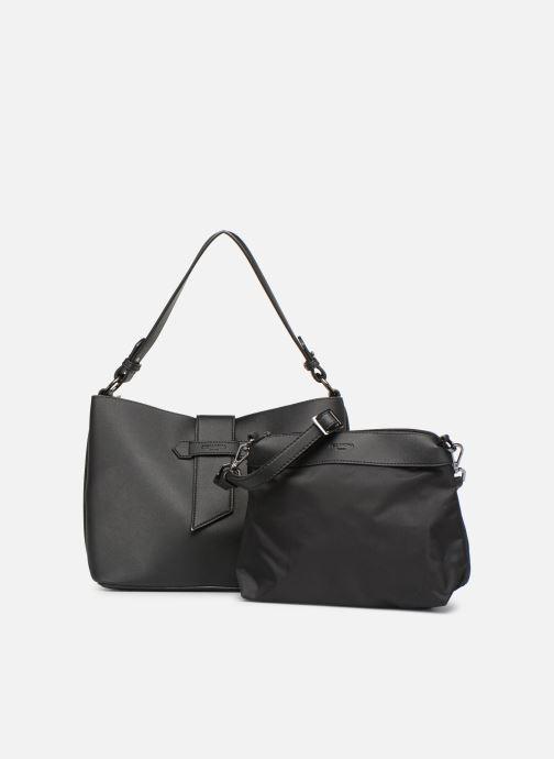 Handtassen Hexagona LAGUNE Porté épaule Zwart achterkant