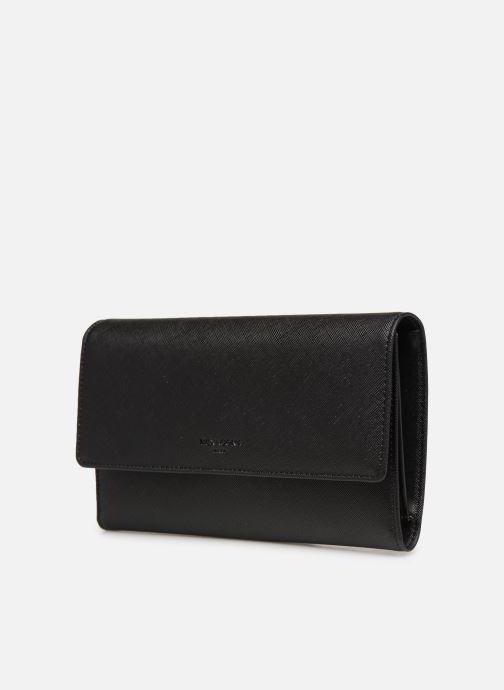 Petite Maroquinerie Hexagona SYNSA PORTE-CHEQUIER Noir vue portées chaussures