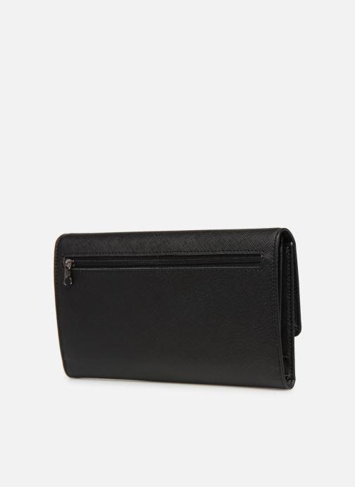 Portemonnaies & Clutches Hexagona SYNSA PORTE-CHEQUIER schwarz ansicht von rechts