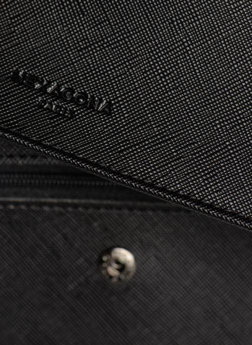 Portemonnaies & Clutches Hexagona SYNSA PORTE-CHEQUIER schwarz ansicht von links
