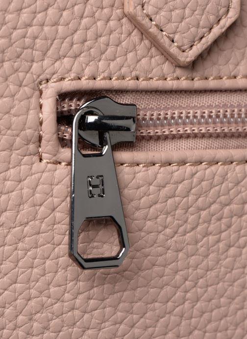 Sacs à main Hexagona MADRID 3 COMPARTIMENTS EPAULE Rose vue gauche