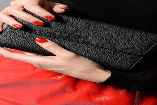 Porte Pelletteria chequier Chez Madrid Hexagona nero 351106 5ZwP6x