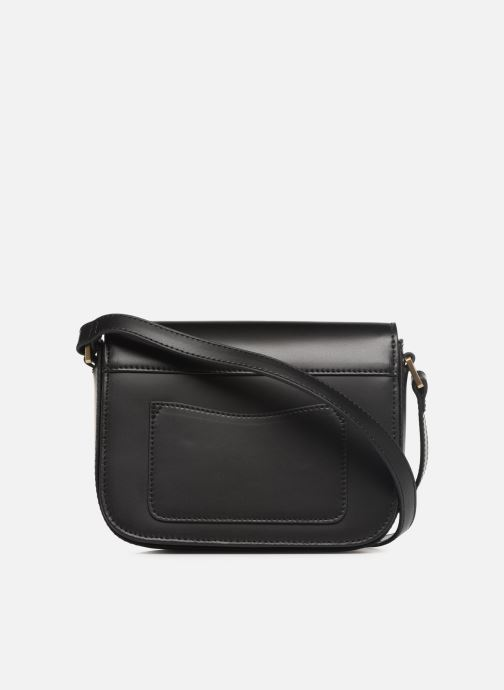 Bolsos de mano Hexagona ICONE CUIR CROSSBODY Negro vista de frente