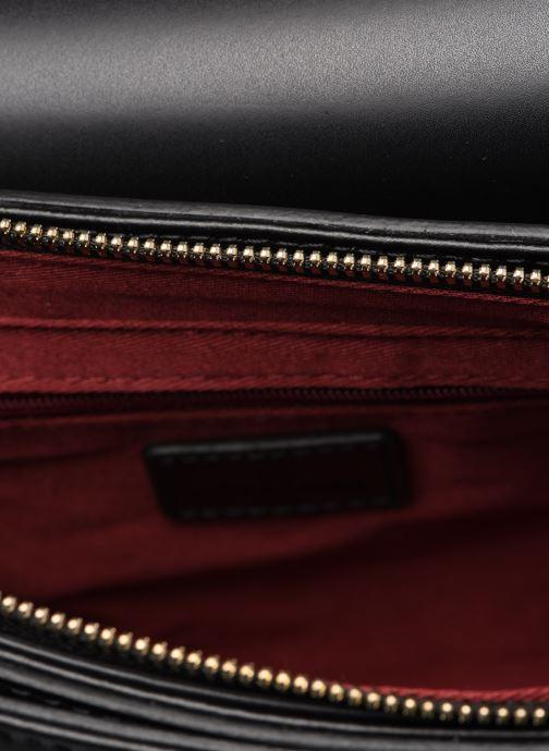 Handväskor Hexagona ICONE CUIR CROSSBODY Svart bild från baksidan