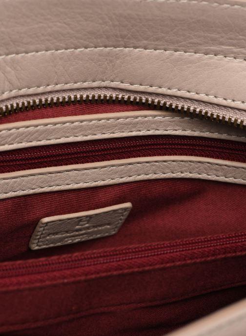 Handväskor Hexagona INAYA CUIR PORTE EPAULE Beige bild från baksidan