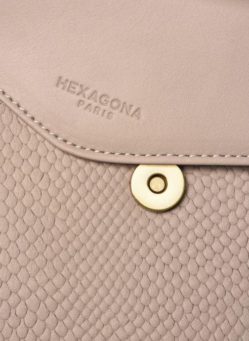 beige Hexagona Sac Chez A 351115 Dos Inaya Zaini Cuir wRARgqWH