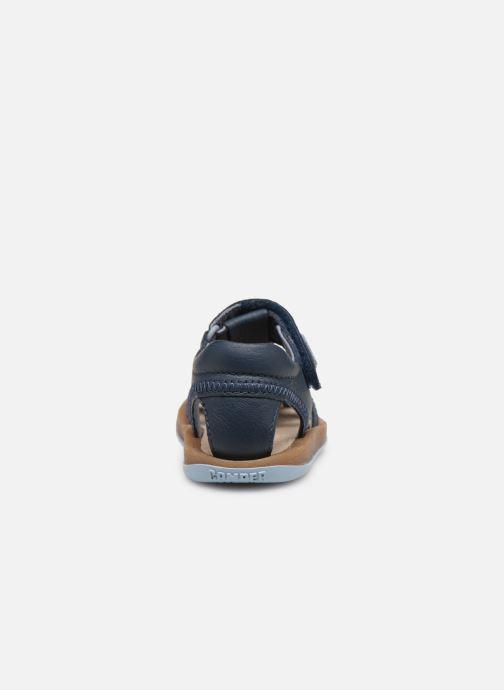 Sandales et nu-pieds Camper Bicho 80372 Bleu vue droite