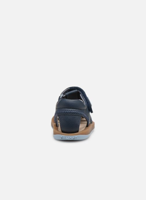 Sandals Camper Bicho 80372 Blue view from the right