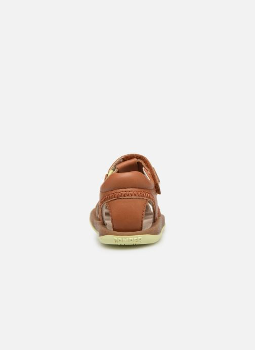 Sandales et nu-pieds Camper Bicho 80372 Marron vue droite