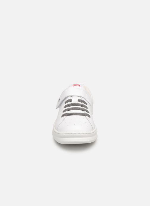 Baskets Camper Run 800247 Blanc vue portées chaussures