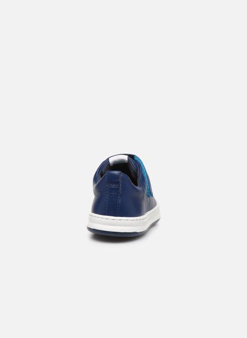 Sneakers Camper Run 800247 Azzurro immagine destra