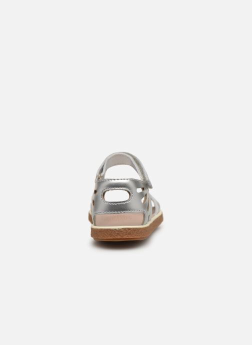 Sandals Camper Miko 800259 Silver view from the right