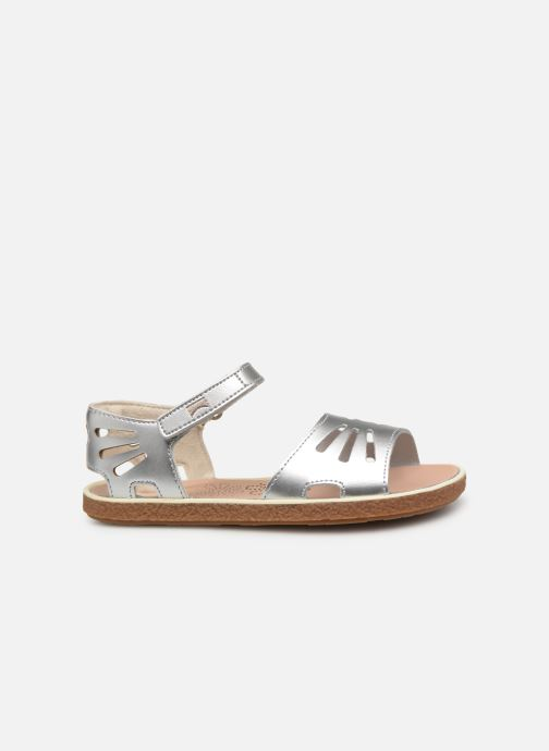 Sandals Camper Miko 800259 Silver back view