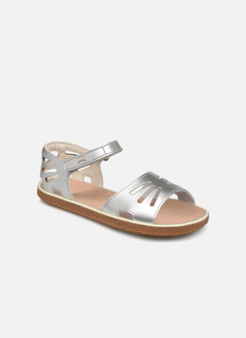 Sandals Camper Miko 800259 Silver detailed view/ Pair view