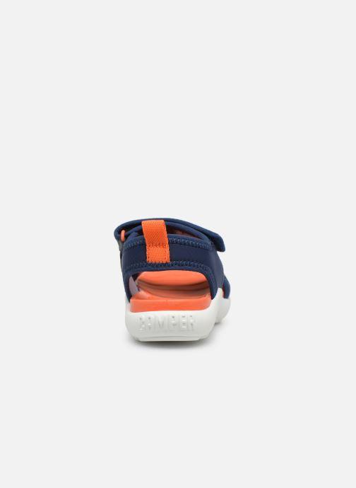 Sandalen Camper Ous W Blauw rechts