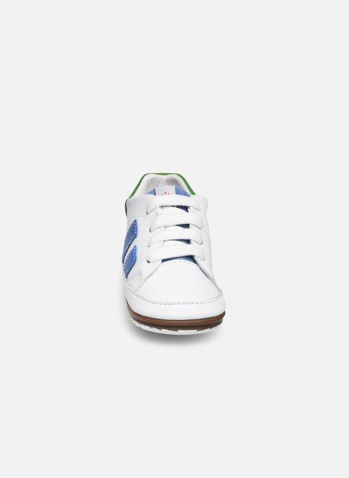 Baskets Shoesme Saverio Blanc vue portées chaussures