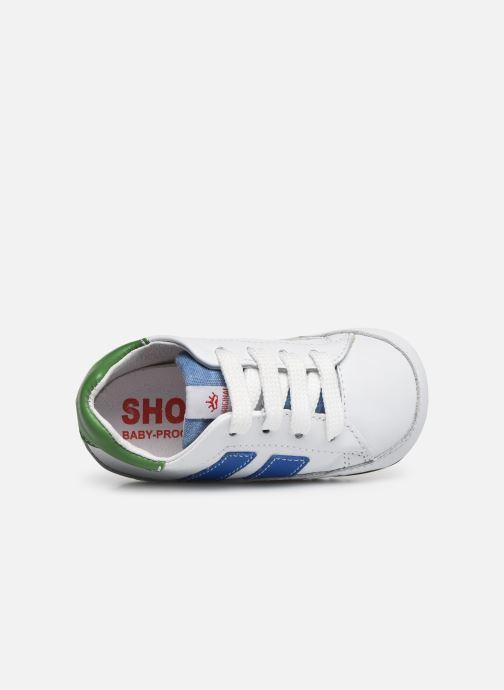 Baskets Shoesme Saverio Blanc vue gauche