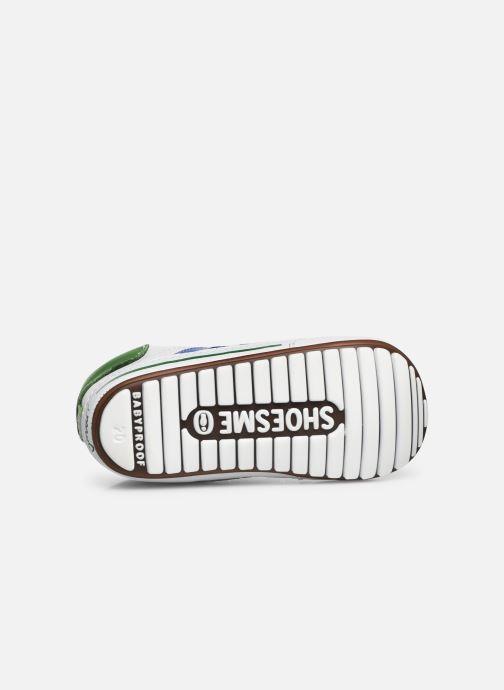 Baskets Shoesme Saverio Blanc vue haut