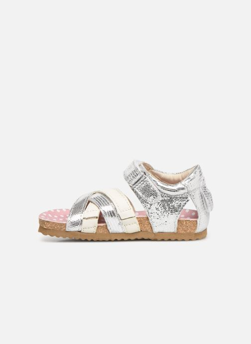 Sandals Shoesme Soraya Silver front view