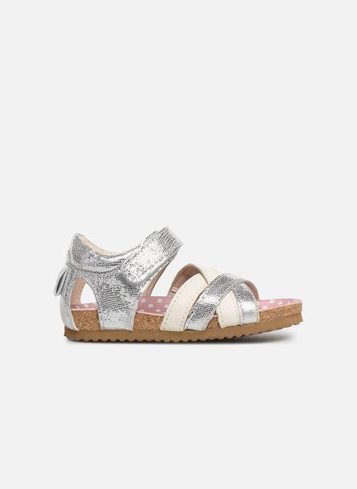 Sandals Shoesme Soraya Silver back view