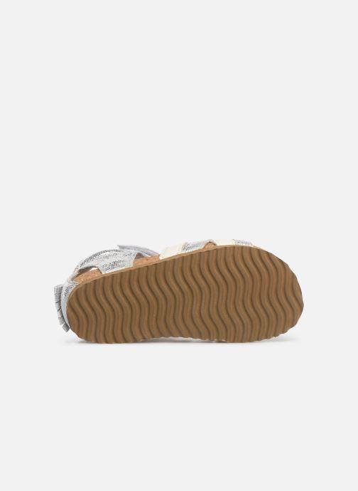 Sandali e scarpe aperte Shoesme Soraya Argento immagine dall'alto