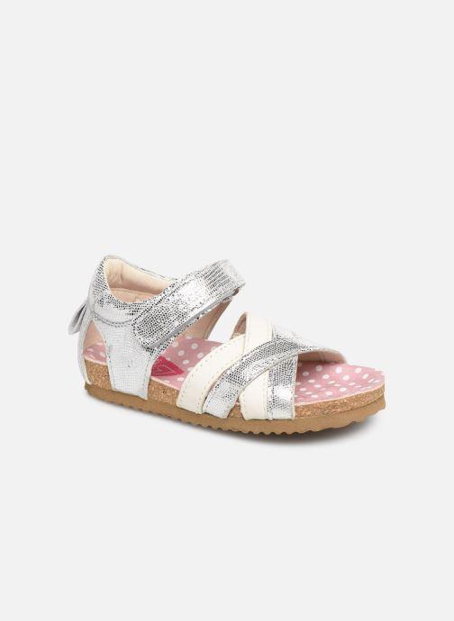 Sandals Shoesme Soraya Silver detailed view/ Pair view