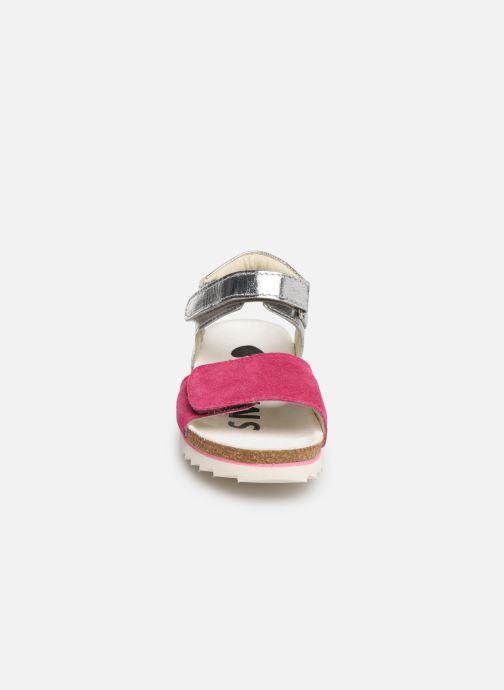 Sandales et nu-pieds Shoesme Syrine Argent vue portées chaussures