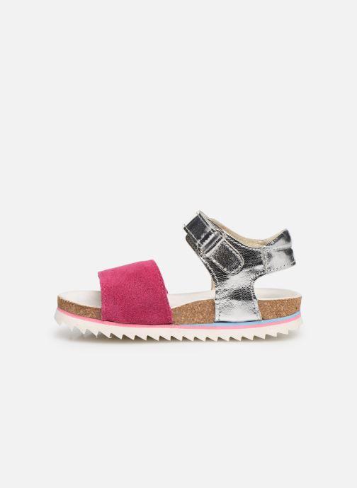 Sandales et nu-pieds Shoesme Syrine Argent vue face
