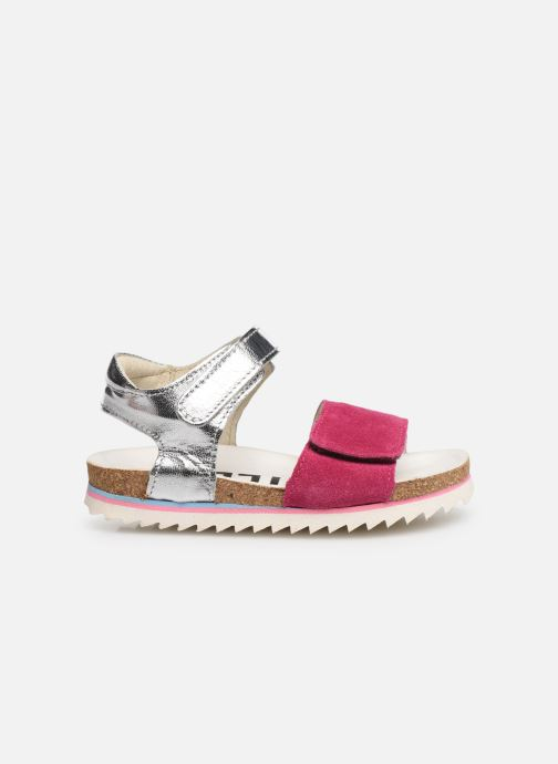 Sandales et nu-pieds Shoesme Syrine Argent vue derrière