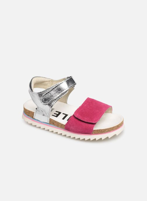 Sandals Shoesme Syrine Silver detailed view/ Pair view