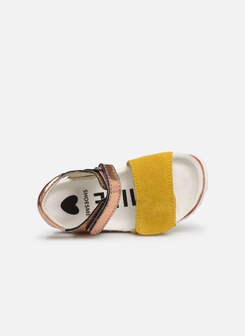 Sandales et nu-pieds Shoesme Syrine Argent vue gauche