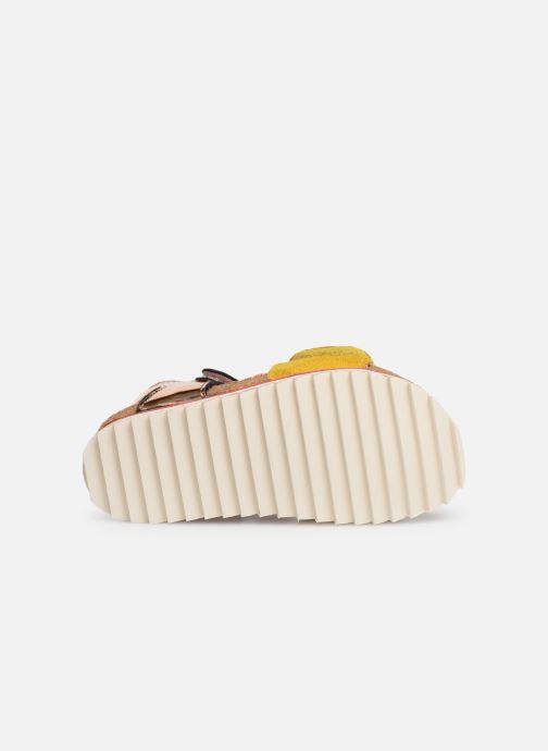 Sandales et nu-pieds Shoesme Syrine Argent vue haut